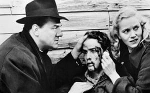 Karl Malden 1912-2009: Karl Malden, Marlon Brando and Eva Marie Saint in On the Waterfront