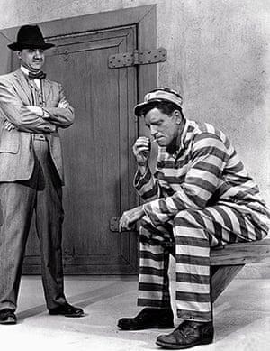 Karl Malden 1912-2009: Karl Malden and Burt Lancaster in Birdman of Alcatraz