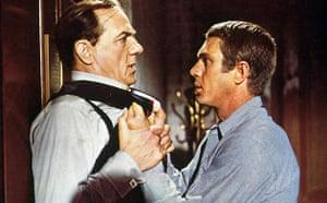 Karl Malden 1912-2009: Karl Malden and Steve McQueen in The Cincinnati Kid