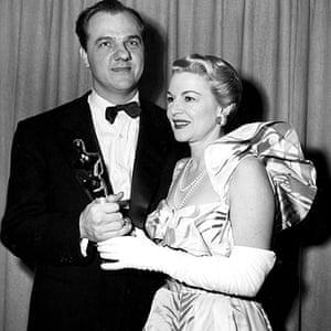 Karl Malden 1912-2009: Claire Trevor presents Karl Malden with his best supporting actor Oscar