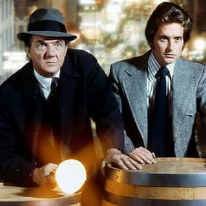 Karl Malden 1912-2009: Karl Malden and Michael Douglas in The Streets of San Francisco TV series