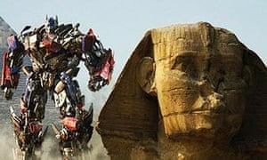 Scene from Transformers: Revenge of the Fallen