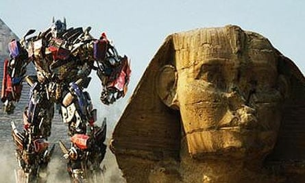Scene from Transformers: Revenge of the Fallen