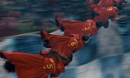 Quidditch scene from Harry Potter and the Half-Blood Prince