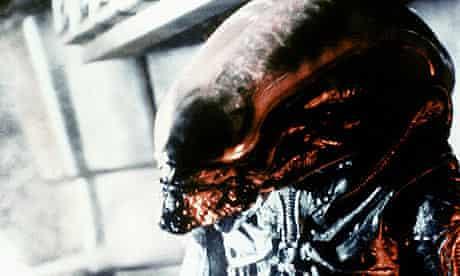 Scene from Ridley Scott's Alien (1979)