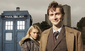 David Tennant with Billie Piper in Doctor Who