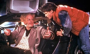 Christopher Lloyd and Michael J Fox in Back to the Future (1985)
