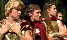 Colin Farrell, Jonathan Rhys Meyers and Jared Leto in Alexander (2004)