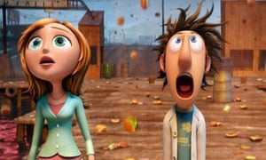 Film still from Cloudy With a Chance of Meatballs
