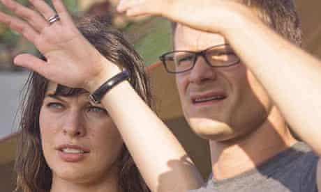 Milla Jovovich and Steve Zahn in A Perfect Getaway