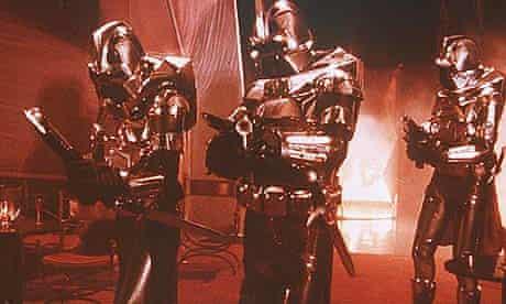 The Cylons in the original Battlestar Galactica TV series