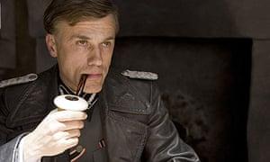 Christophe Waltz as Colonel Hans Landa in Inglourious Basterds