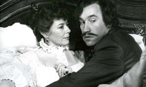 Dorothy Tutin and Simon Callow in La Ronde