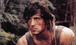 Sylvester Stallone as Rambo in First Blood