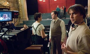 Richard Linklater with Zac Efron in Me and Orson Welles