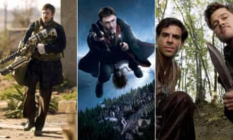 District 9, Harry Potter, Inglourious Basterds