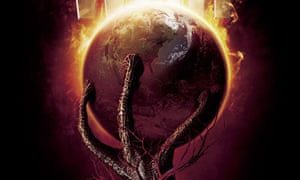 HG Wells's War of the Worlds, the poster for the 2005 Spielberg film