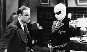 William Harrigan and Claude Rains in The Invisible Man (1933)