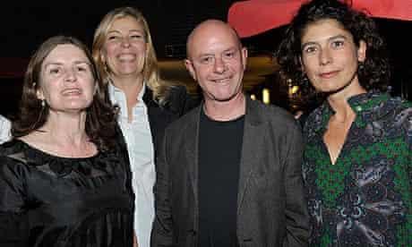Nick Hornby with Finola Dwyer, Lone Scherfig and Amanda Posey