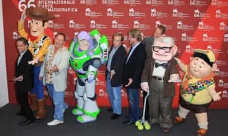 Lee Unkrich, John Lasseter, Brad Bird, Andrew Stanton, Pete Docter