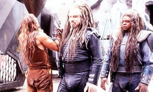 A scene from Battlefield Earth