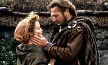 Jessica Lange and Liam Neeson in Rob Roy