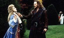 Tim Roth and Liam Neeson in Rob Roy