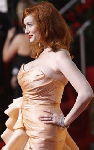 Golden Globes 2010: Christina Hendricks of Mad Men