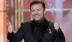 Golden Globes 2010: Ricky Gervais, Golden Globes 2010