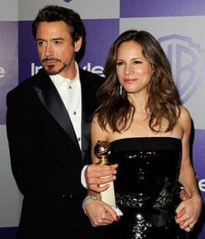 Golden Globes 2010: Robert Downey Junior, Sherlock Holmes, Golden Globes