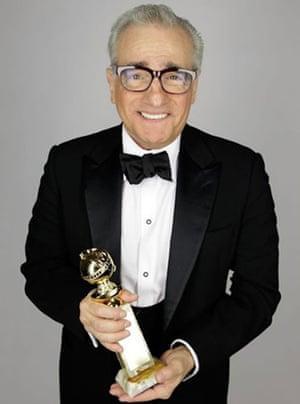 Golden Globes 2010: Martin Scorsese, Golden Globes