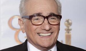 Martin Scorsese at the 67th annual Golden Globe awards