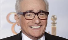 Martin Scorsese at the 67th annual Golden Globe awards