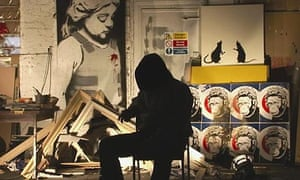 Still from Exit Through the Gift Shop, the film by Banksy