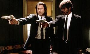 John Travolta and Samuel L Jackson in Pulp Fiction (1994)