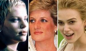 Charlize Theron, Princess Diana and Keira Knightley