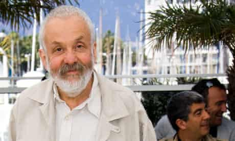Mike Leigh in Cannes, May 2010