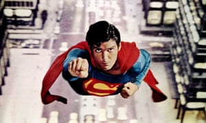 The Krypton factor ... Christopher Reeve as the original Superman in the 1978 film.
