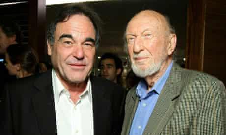 Directors Oliver Stone and Irvin Kershner in 2006