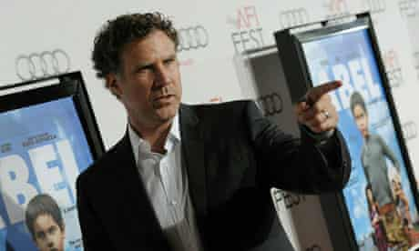 Selling point ... Will Ferrell arrives at a screening of Diego Luna's Abel yesterday.