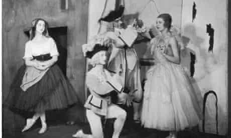 Ballet Russe perform Pulcinella in 1924