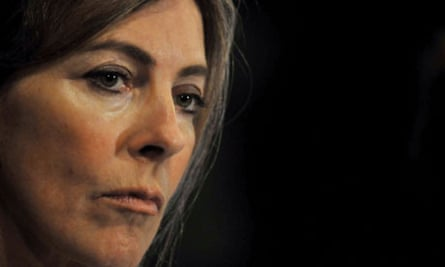 Southbound ... Kathryn Bigelow at the Latin American film festival.