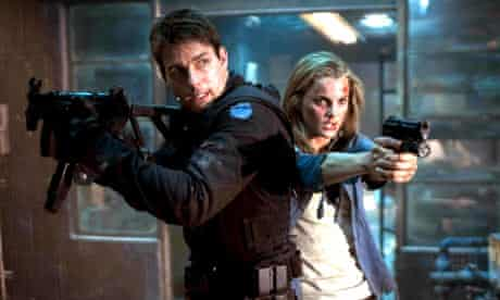 Tom Cruise and Keri Russell in Mission: Impossible 3