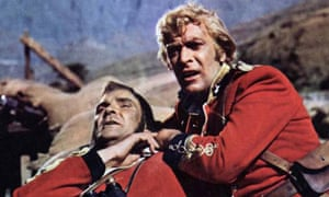 Reel history zulu michael caine loses the plot but wins the michael caine as the smooth featured lieutenant bromhead in zulu all photographs ronald grant archive stopboris Images