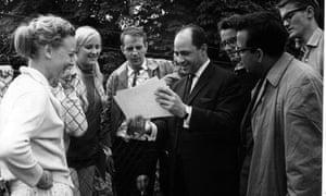 Stockhausen and Boulez at Darmstadt