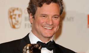 Baftas 2010: Colin Firth with his best actor award