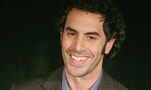 Sacha Baron Cohen at the 2007 LA Film Critics' Association awards