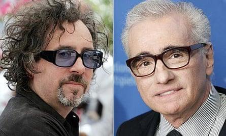 Tim Burton and Martin Scorsese