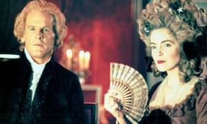 Nick Nolte and Greta Scacchi in Jefferson in Paris