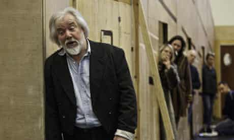 Roll of the dice ... John Tomlinson rehearses his role